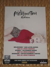 MADONNA - 2016  REBEL HEART AUSTRALIAN TOUR POSTER - PERFECT TO FRAME!