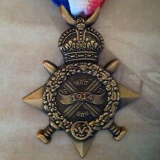 WWI Mons Star (With Clasp) | 5th Aug - 22nd Nov 1914