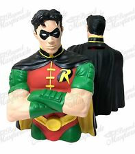 DC Comics Robin Figure Statue Bust Licensed Piggy Coin Bank