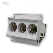 Sicherungssockel Neozed max. 3x63A für Hutschiene 3-polig, Sockel für Sicherung