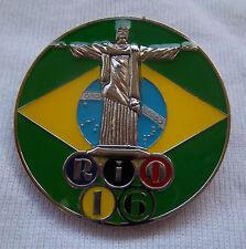 Orig.Pin   Olympische Spiele RIO DE JANEIRO 2016  -  CHRISTUSSTATUE  !!  SELTEN
