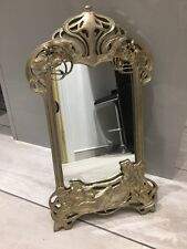 Art Nouveau Style Dressing Table Mirror - Large Size - Ornate