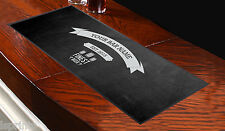 PERSONALISED CHALK BOARD EFFECT FINEST BEER DESIGN BAR RUNNER PUBS CLUBS BARS