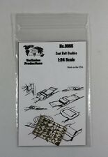 VERLINDEN 0066 - SEAT BELT BUCKLES PHOTO ETCHED 1/24 - NUOVO
