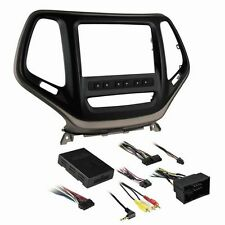 Metra 99-6526BZ Double DIN Dash Kit for Select 2014-Up Jeep Cherokee Vehicles