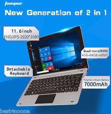 """Jumper EZpad 6 11.6"""" 2 in 1 Tablet PC Win 10 OS Intel Quad Core 1.44GHz 4GB 64GB"""