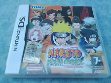 NARUTO NINJA COUNCIL 1 EUROPEAN VERSION - NINTENDO DS 3DS 2DS ITALIANO COMPLETO