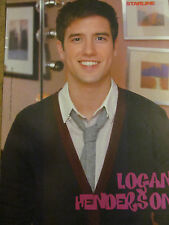 Logan Henderson, Big Time Rush, Full Page Pinup