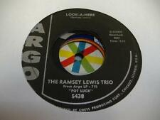 Jazz Funk 45 THE RAMSEY LEWIS TRIO Look-A-Here on Argo