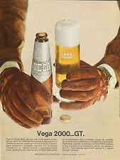 Publicité Advertising 1969  Bière VEGA 2000 grande bière de luxe