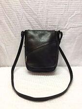 Day Makers Santa Barbara Black Leather Purse, Bag, Shoulder Bag