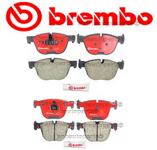 NEW BMW E70 E71 X5 X6 2007-2009 Complete Front & Rear Disc Brake Pads KIT Brembo