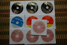10 CD+G DISCS ROCK & OLDIES KARAOKE  GUNS N ROSES,ROBERT PALMER,QUEEN CDG 30g