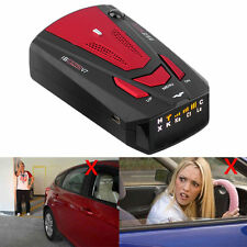 1X New Car Radar Detector 16 Band Voice Alert Laser V7 LED Display F7