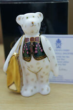 MULBERRY HALL SHOPPER BEAR ROYAL CROWN DERBY NIB