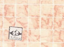 Floor Tile Sheet - Rose Marble MH5955 dollhouse 8.5x11 card stock 1/12 scale
