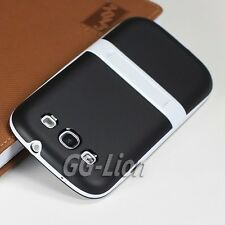 TPU Silicone Case Skin Cover with Stand For Samsung Galaxy S3,S III,SPH-L710.BL