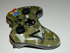 Microsoft Xbox 360 Camo Military Special Edition Wireless Controller Army CLEAN!