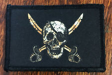 CALICO JACK Morale Patch Tactical Military NAVY SEAL PIRATE FLAG DEVGRU NSWDG