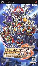 Used PSP Super Robot Taisen MX Portable  Japan Import ((Free shipping))