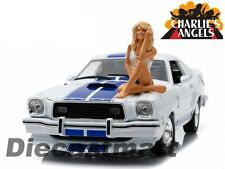 1976 MUSTANG COBRA II FARRAH FAWCETT CHARLIES ANGELS 1:18 BY GREENLIGHT 12880-B
