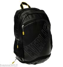 Everlast Black 4 in1 Backpack Pockets for Laptop Shoes Drink & Cool Bag Section