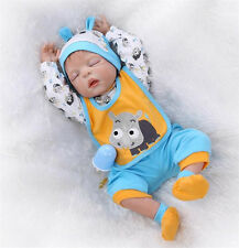 "22"" Boy Doll Realistic Reborn Baby Newborn Sleeping Baby Doll BB021"