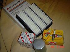 4 bpr7es-11 de bujía de encendido NGK filtro aceite filtro aire mitsubishi galant 5 2000 e55a 92 -