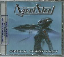 AGENT STEEL OMEGA CONSPIRACY SEALED CD NEW