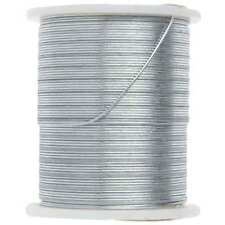 Silver Beading Wire 24 Yards Bead Jewelry Craft - 26 Gauge