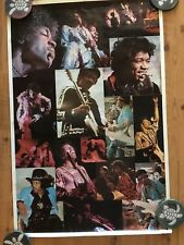 JIMI HENDRIX poster collage 1976! (VERY ,VERY RARE!!)GREAT PHOTO COLLAGE!!