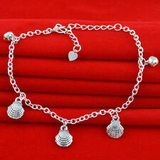Jewelry Fashion  925 silver crystal chain Bracelet Anklet gift for women N-289