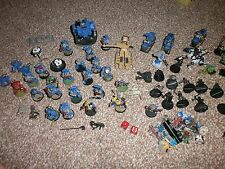 Collection of Warhammer 40k - 15 Metal figures + many more - Bikes