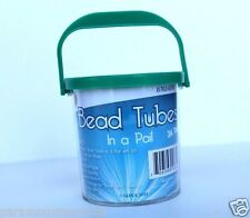 24 Waterproof Storage Tubes in a Pail Great for Many Things Green