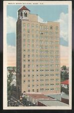 Postcard MIAMI Florida/FL Realty Board Building view 1910's