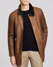 Armani Collezioni Sheepskin Shearling Leather Jacket EU54 XL RRP £2760 Coat