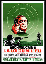 A3 - Get Carter Michael Caine Belgian Movie Film wall Home Posters Retro Art #10