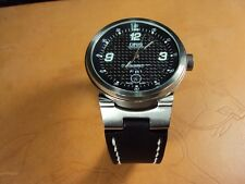 ORIS WILLIAMS F1 TEAM notched lug end watch strap band Cheergiant leather straps