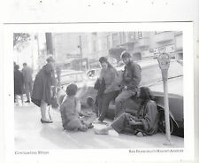 """+PC-Postcard-""""Contrasting Styles"""" /Friends Gather @ SF Haight-Ashbury (#122)"""