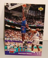CARTE DE COLLECTION BASKET BALL EAST ALL STARS DOMINIQUE WILKINS