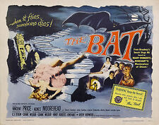 The Bat 1959, The Last Man On Earth 1964 and Nightmare Castle 1965 DVD