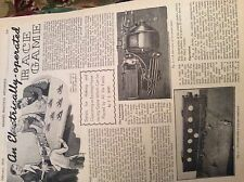 M12b ephemera 1954 Article how to make an electrically operated race game