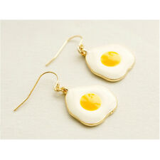 Women Poached Eggs Earrings Cute Fried Eggs Ear Studs Earrings Jewelry Decor