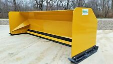 10' Snow pusher boxes Free Shipping backhoe loader snow plow Express Steel