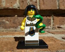 LEGO Minifigures 8805 Series 5 Egyptian Queen w/ stand checklist and opened pack