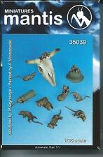 Mantis Mins 35039 Rats Animal set 10 1/35th Model unpainted kit