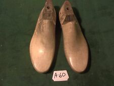 VINTAGE1958 PAIR Tiger Maple Size 8 EE CAMPUS USA Shoe Factory Last Mold  #A-60