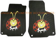 LADY BUG CUSTOM RUBBER FLOOR MATS MADE IN USA! for VOLKSWAGEN BEETLE 1998-2010