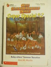 Ann Martin Baby-sitters Club Super Special # 2, Summer Vacation, P/B