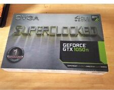 NVIDIA GeForce GTX EVGA 1050ti 4GB Graphics Card Brand New & sealed